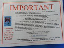 Courcoury – Campagne de stérilisation