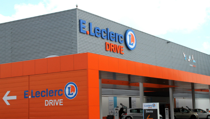 Collecte Drive Leclerc Abbaye – mai 2017