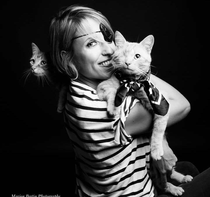 Portraits de chats en famille
