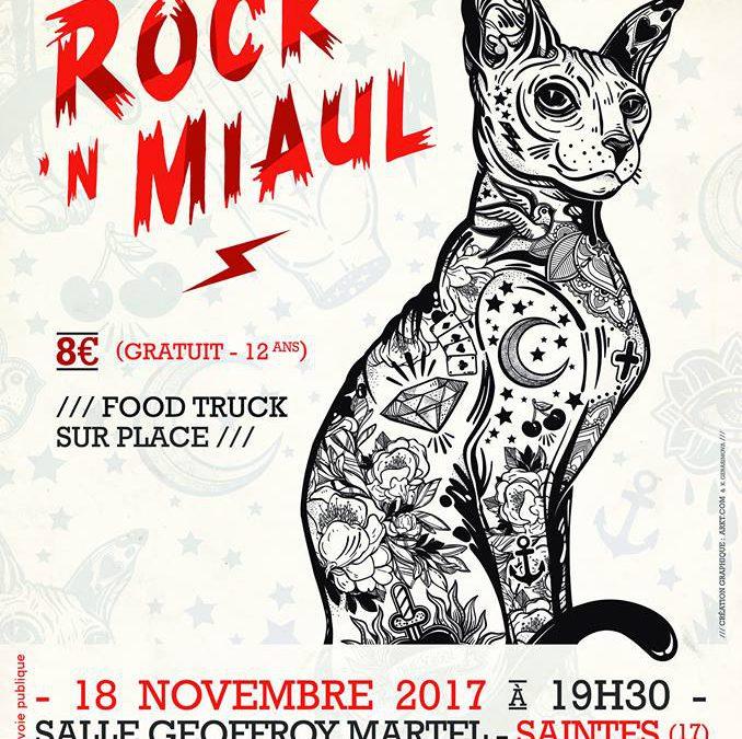 J-4 semaines Rock'N Miaul